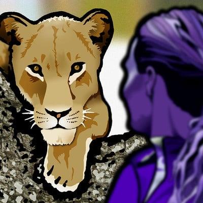 Steve rampton lioness