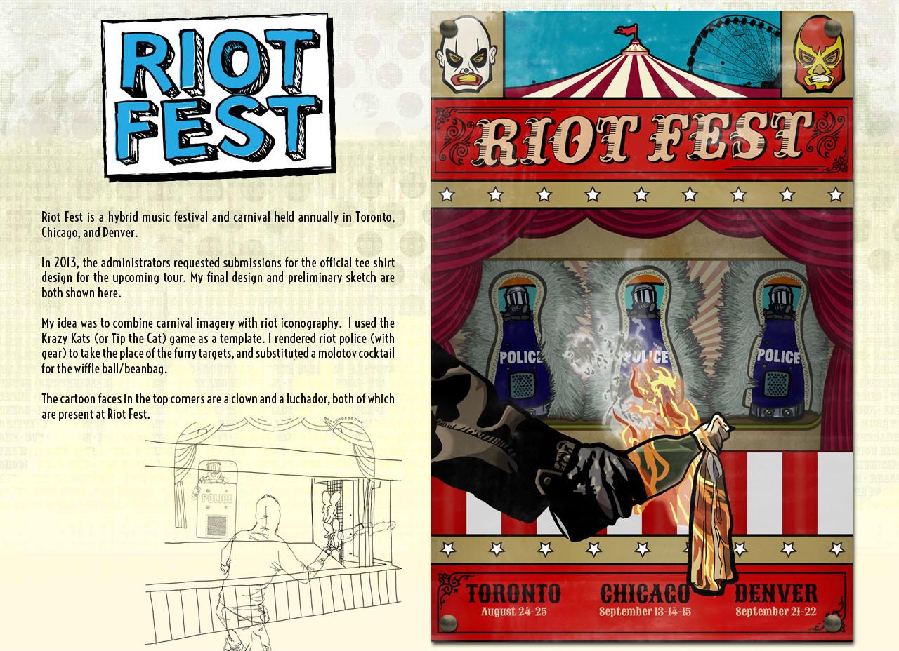 Steve rampton about riotfest