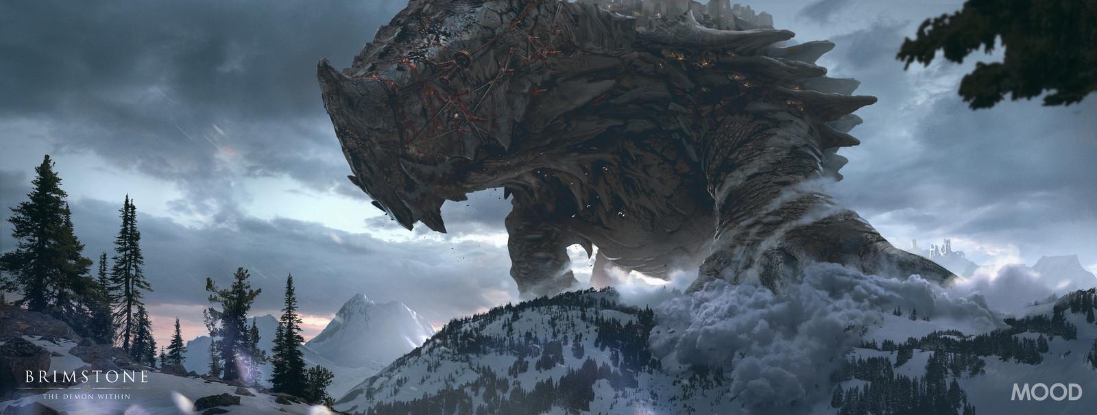 Gomorrah Traversing the Mountains