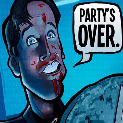 Steve rampton partys over watermark