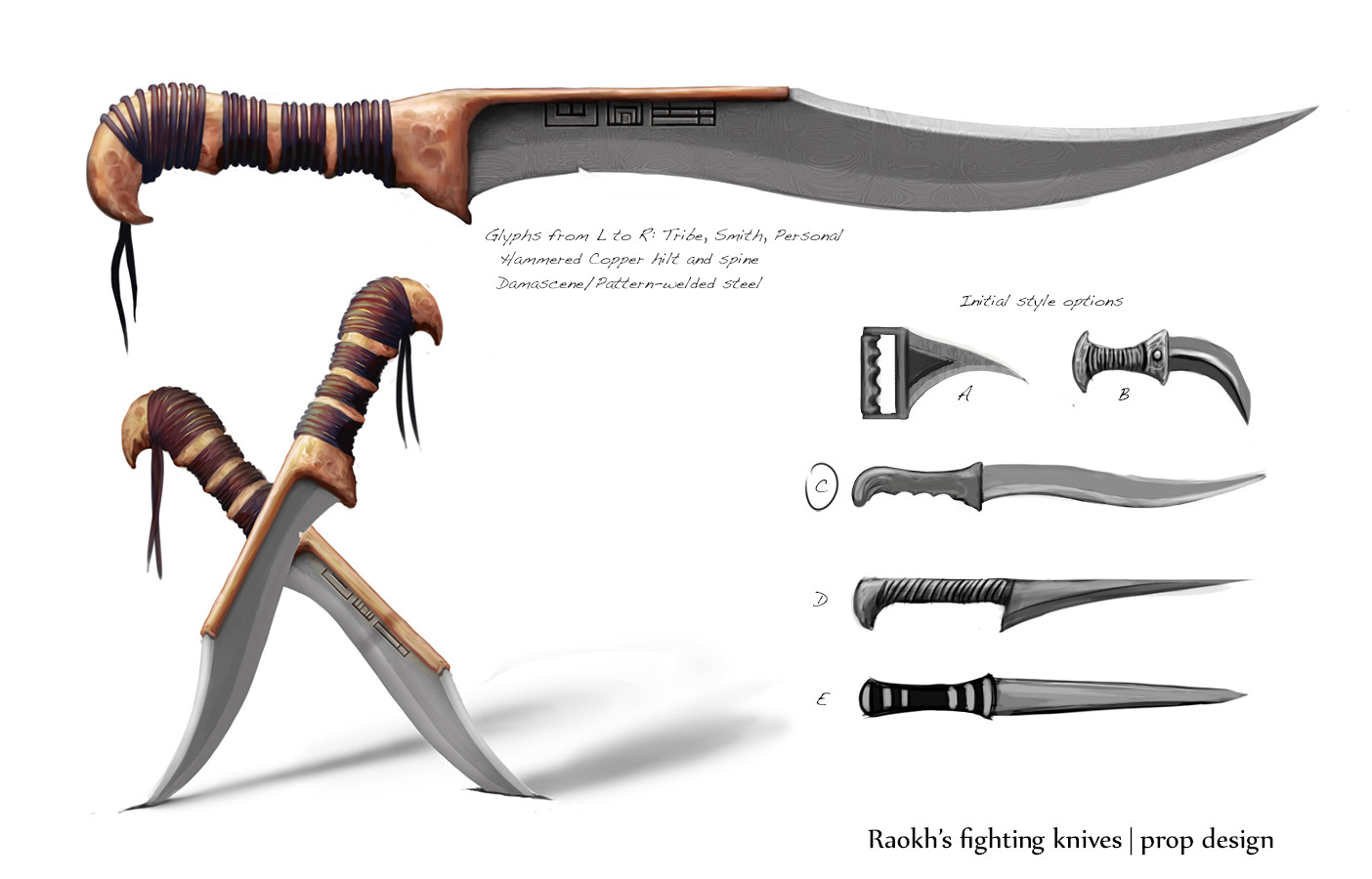 Raokh's Fighting Knives