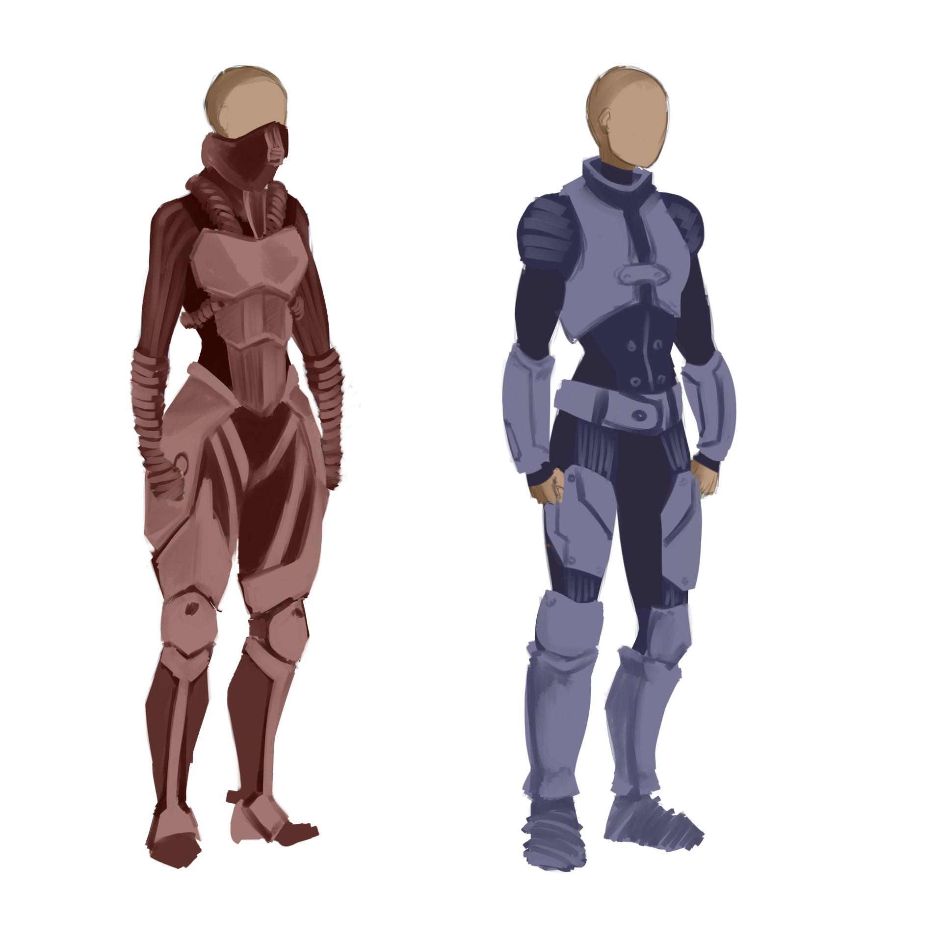 Xono - Concept Sketches Pt.2