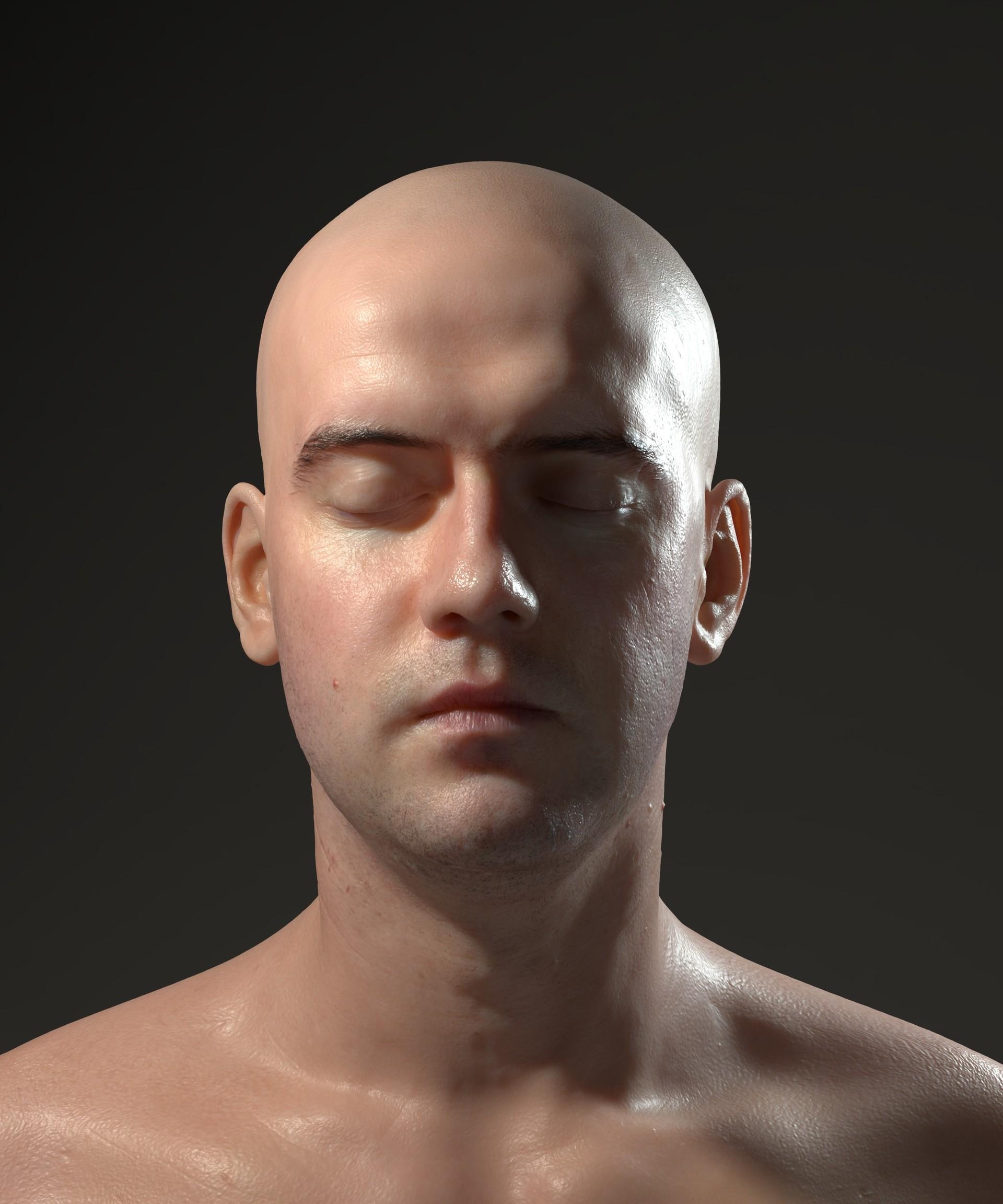 ArtStation - Realastic Skin Shader using RedShift & Maya