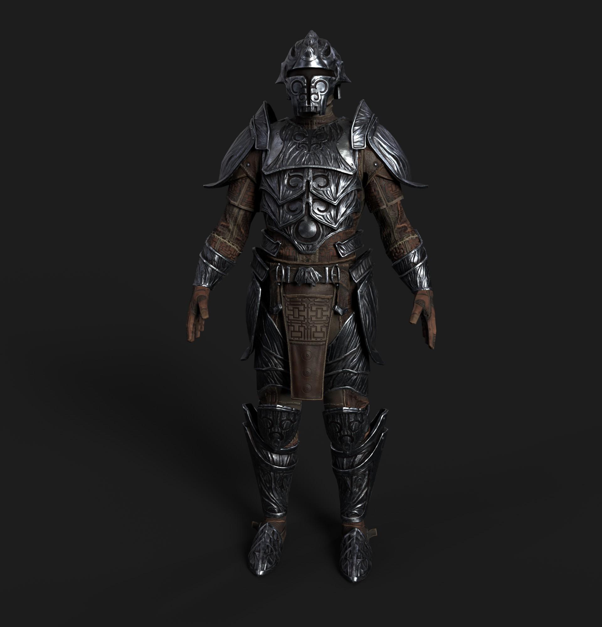 Ricardo graham hlaalu medium armor realtime 01