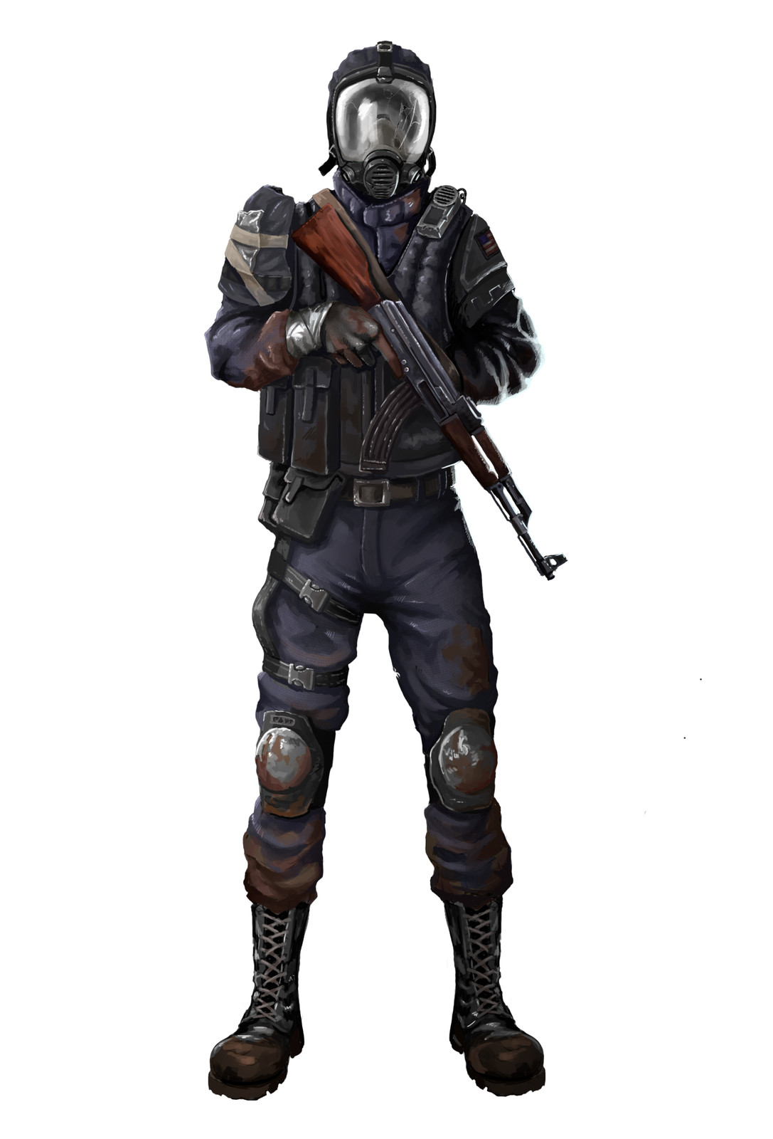 Soldier Type Character