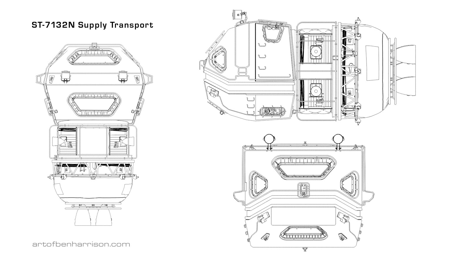 Ben harrison supply transport schematic