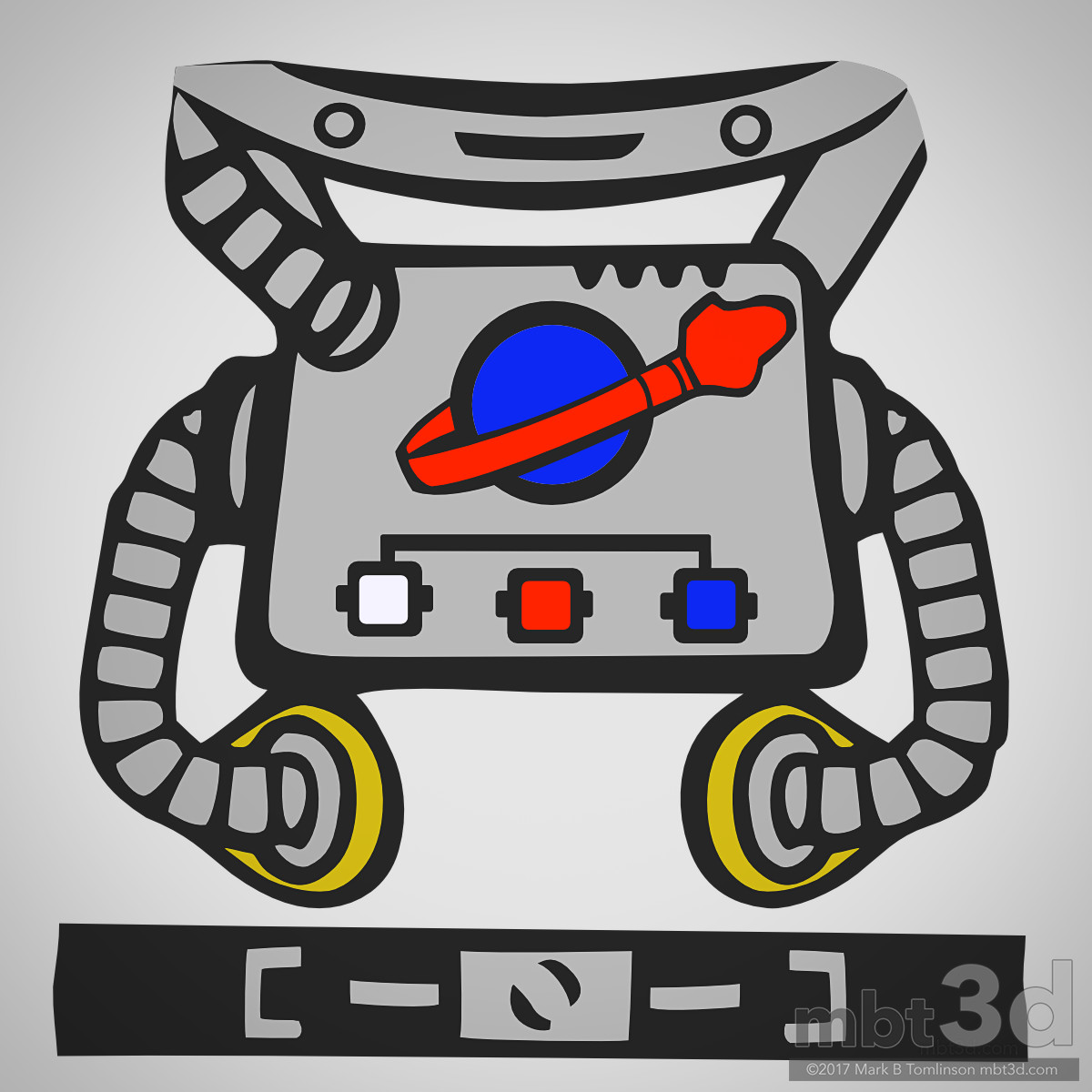 Mark b tomlinson spaceman