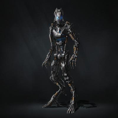 Dmitry kaidash obsolete robot concept art dk