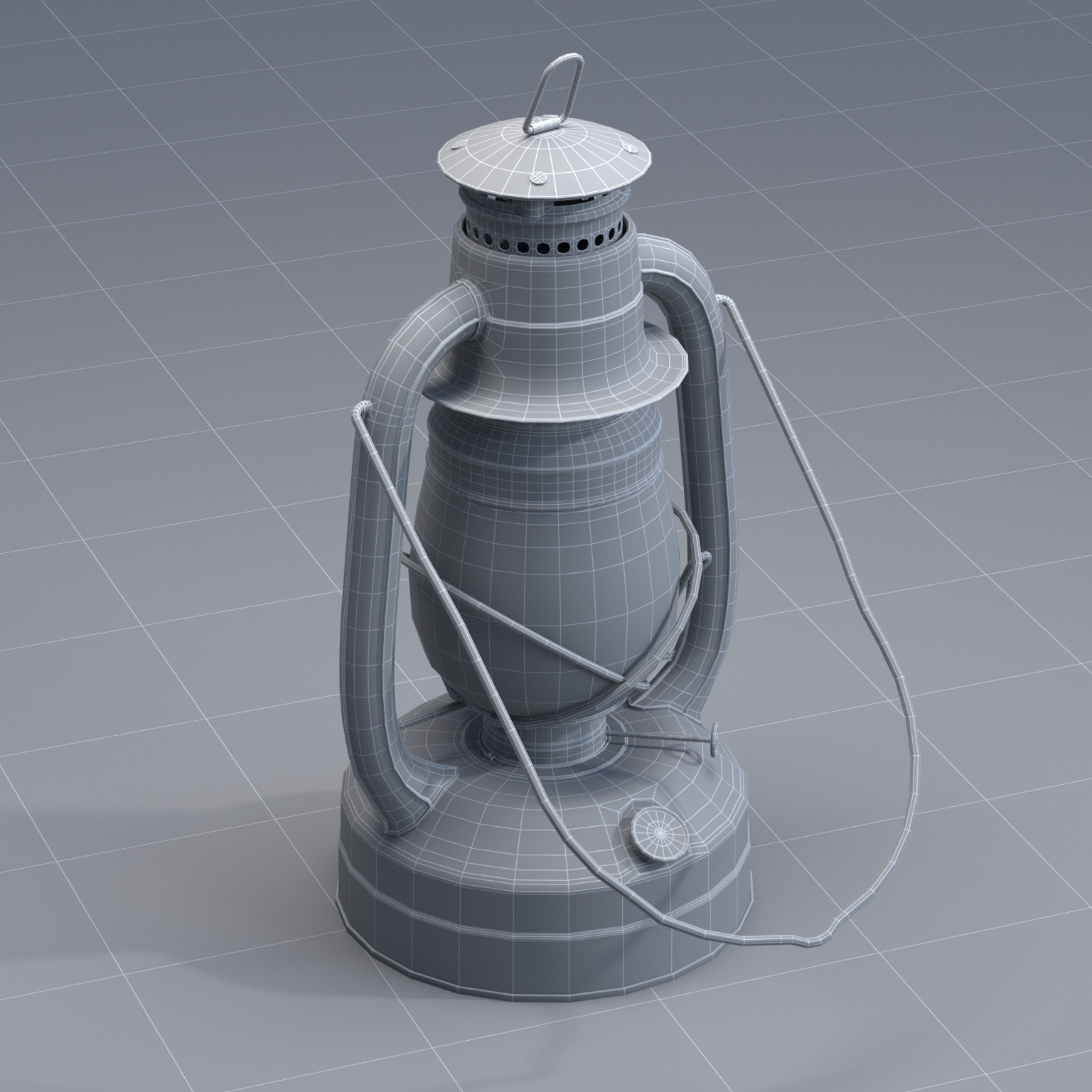 Karlijn koning lantern wireframe