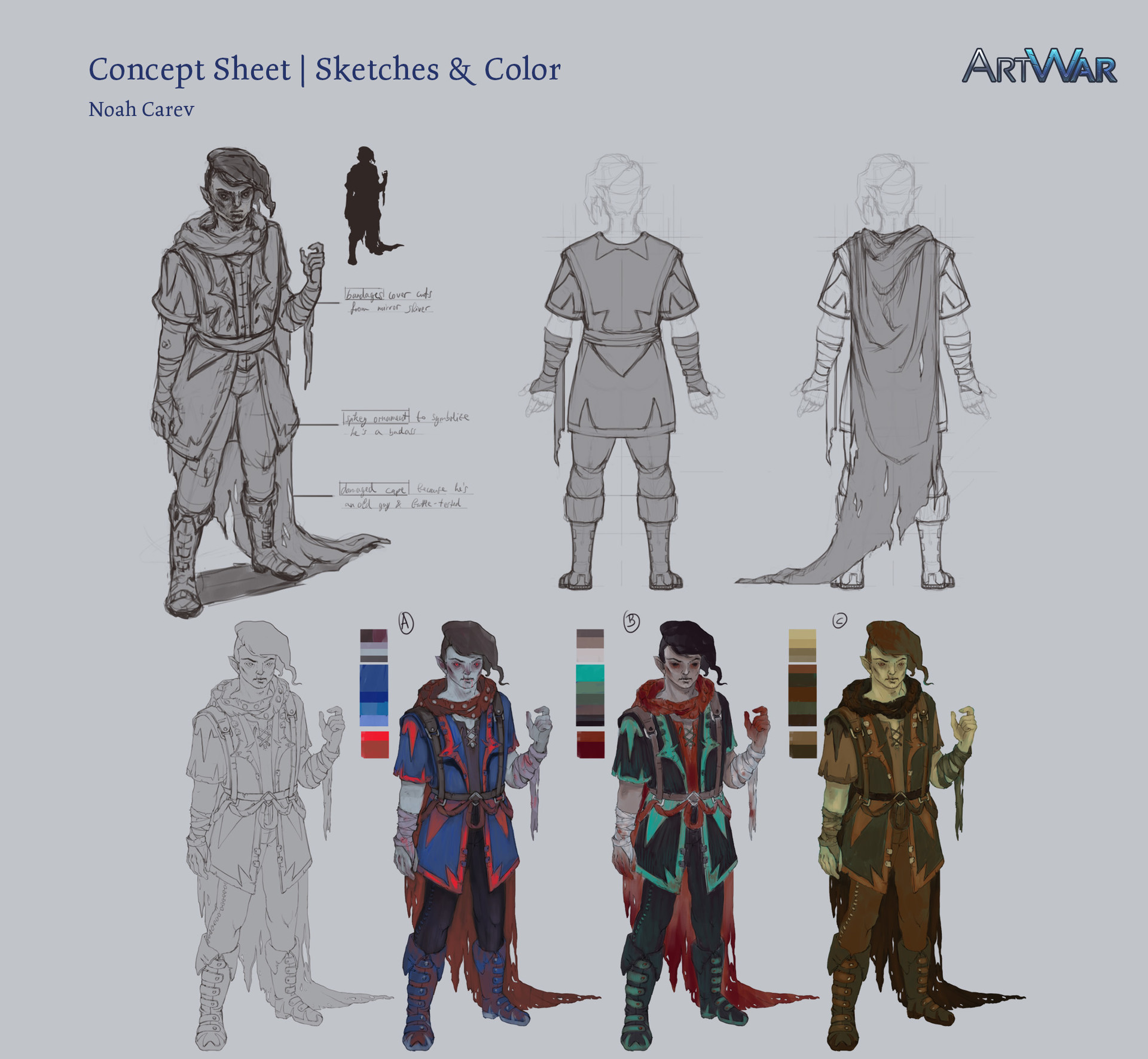 Noah carev artwar sketches frankenstejin noahcarev3