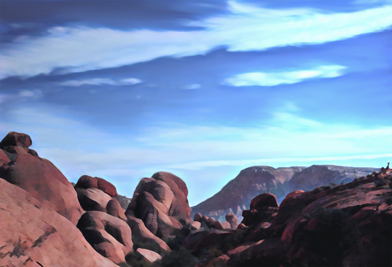 Landscape Study - Red Rock Canyon