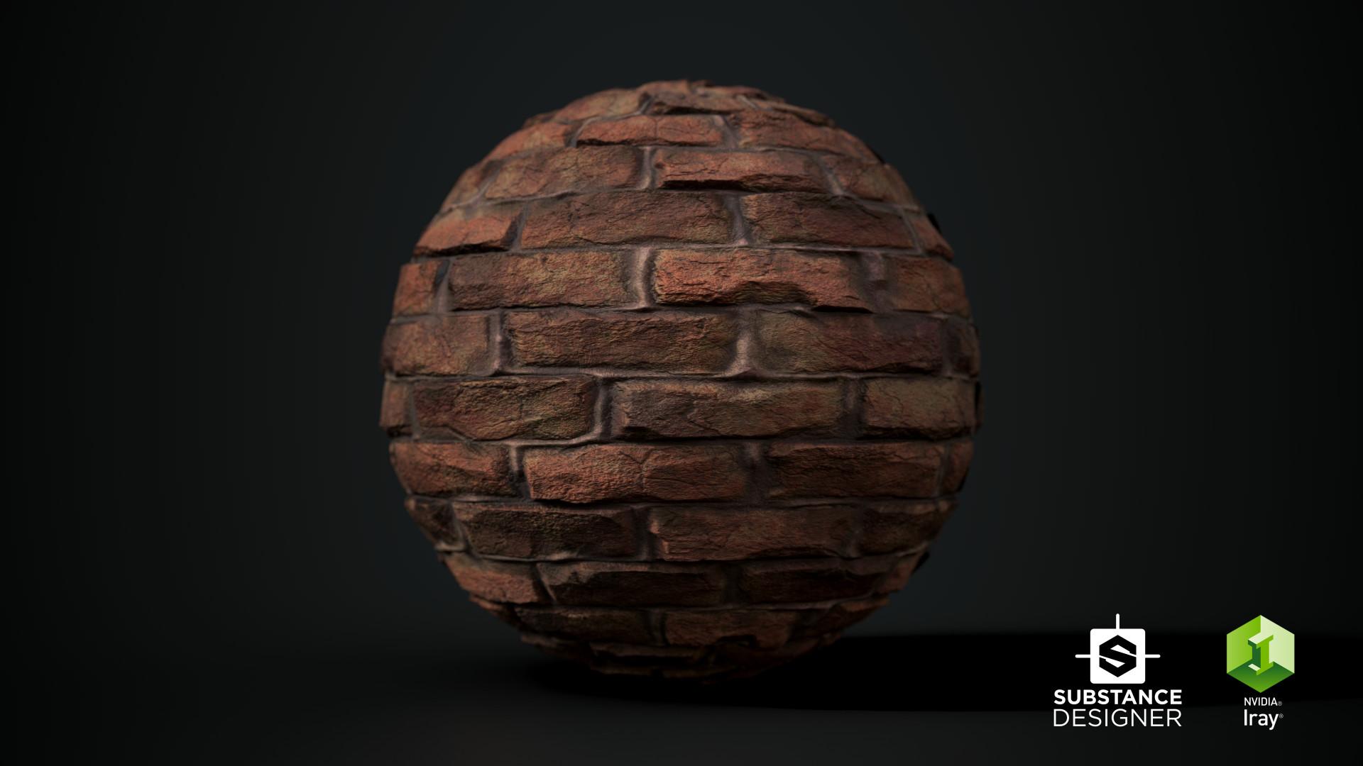 Gokhan galex ilhan brick sphere 01