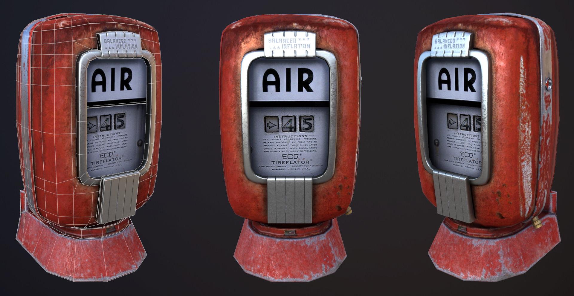 Eco Air Meter : Abhik mitra vintage eco air meter tireflator