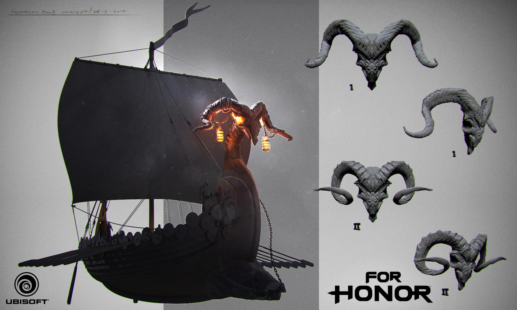 Vladimir somov vladimir somov for honor drakkar concept 01