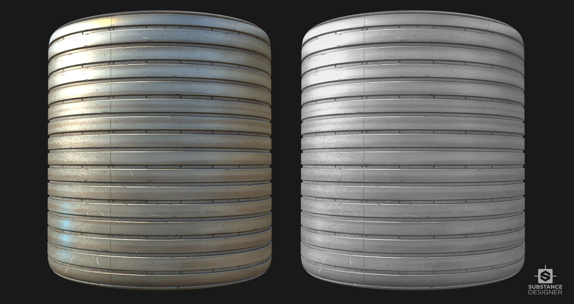 Victor santos metalplates cylinder
