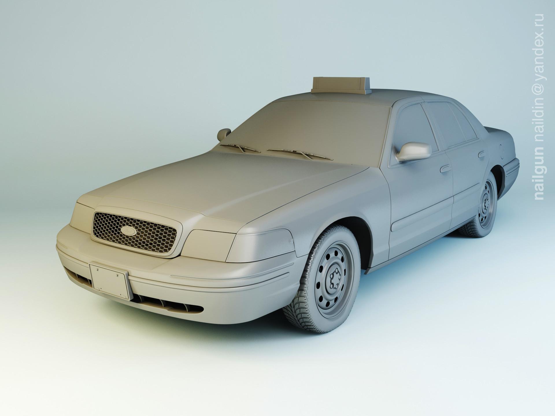 Nail khusnutdinov 003 ford cv modelling