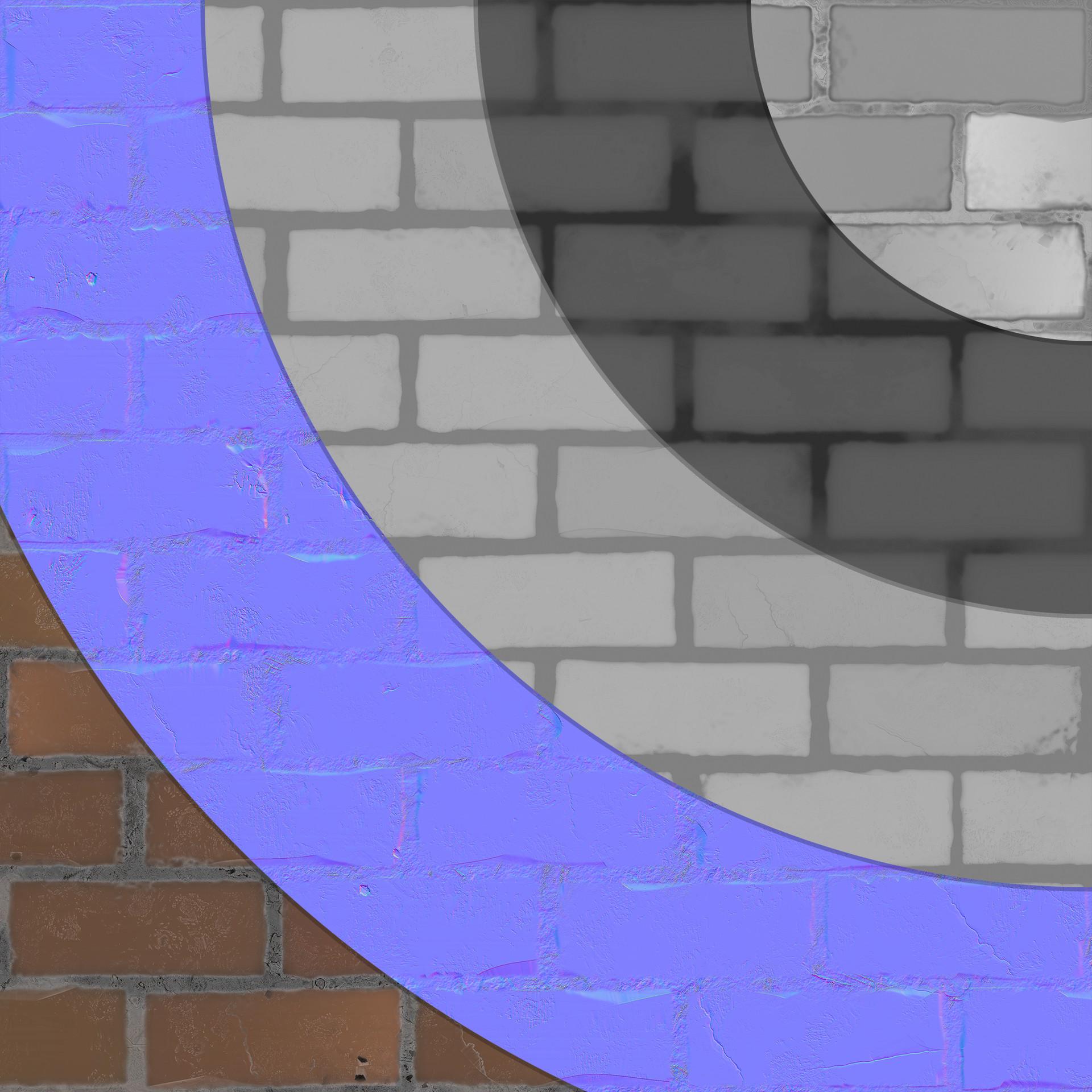 Victor santos bricks textures