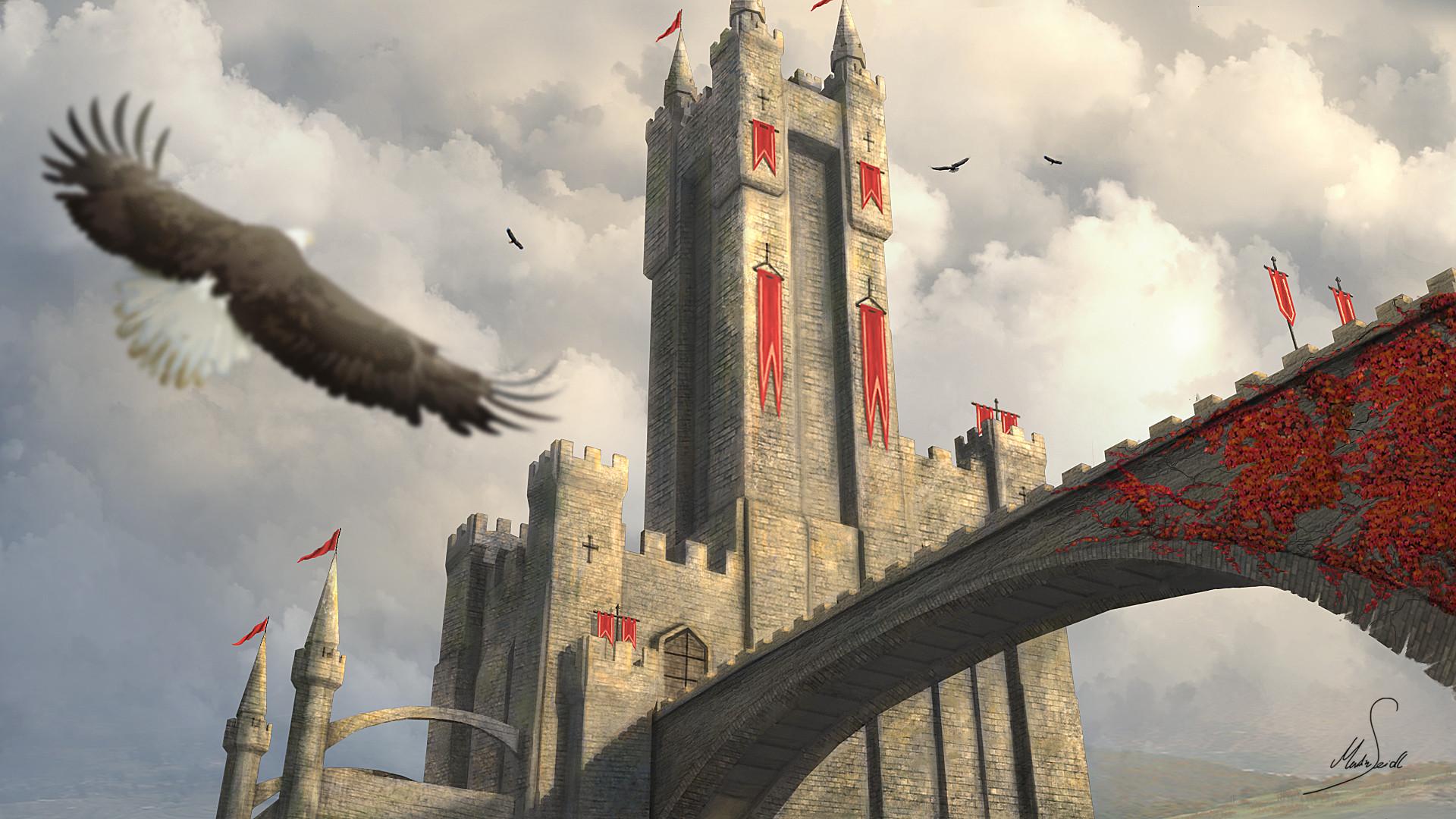 Martin seidl castle 3d paintover