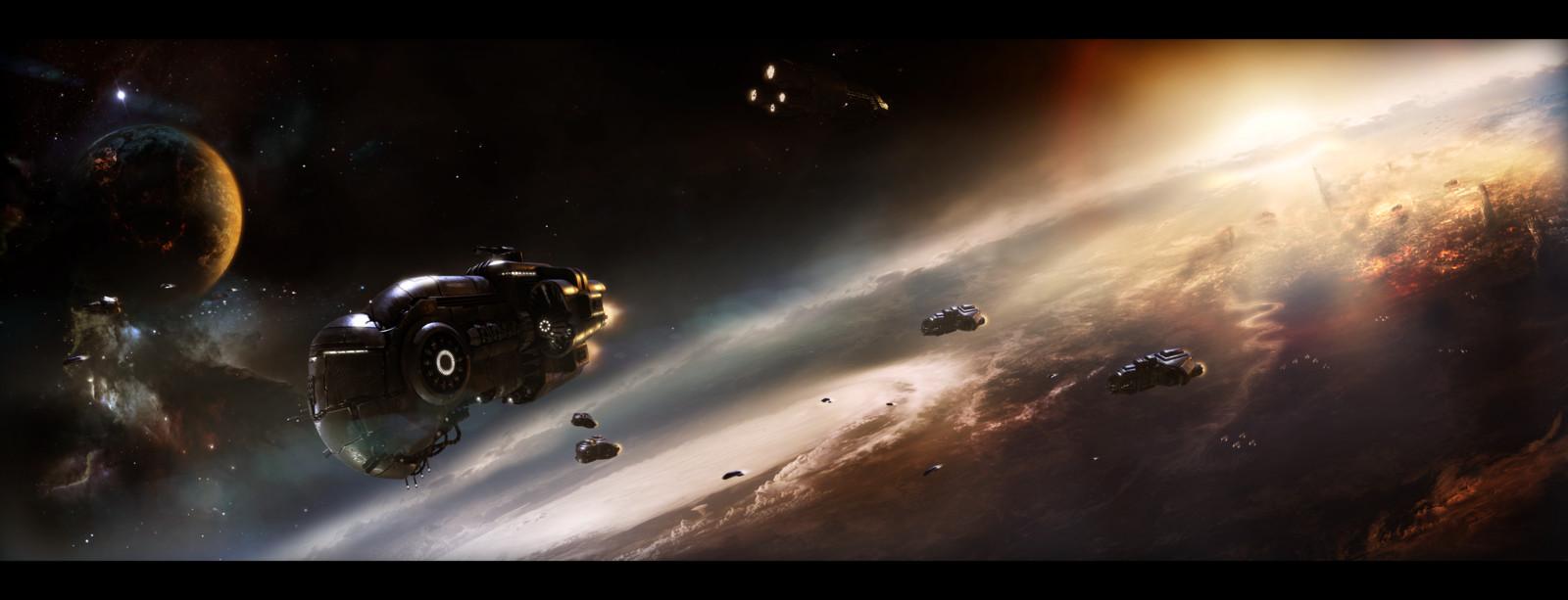 Get my fleet off the orbit