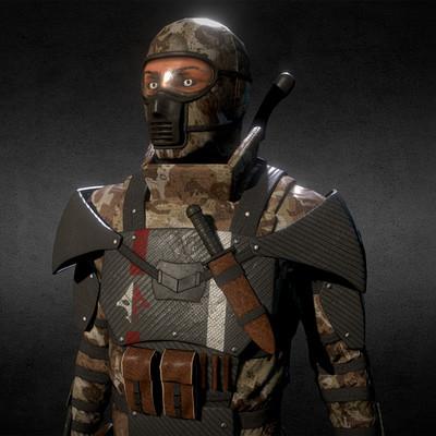 Deivede tibola eikron soldier torso low