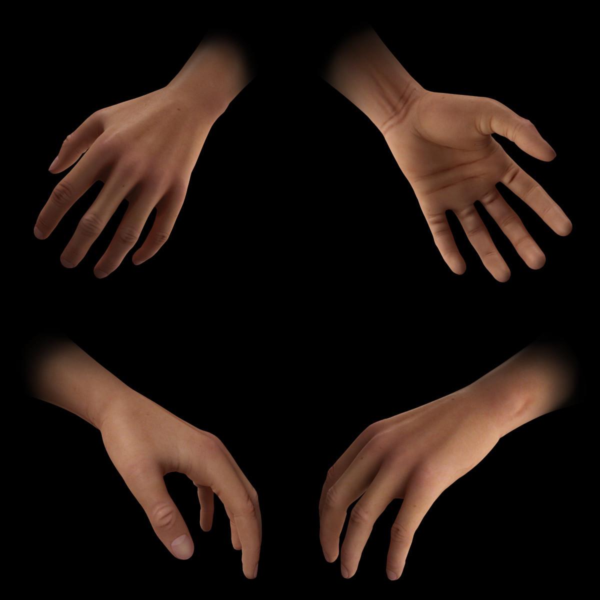 Hands - Highpoly
