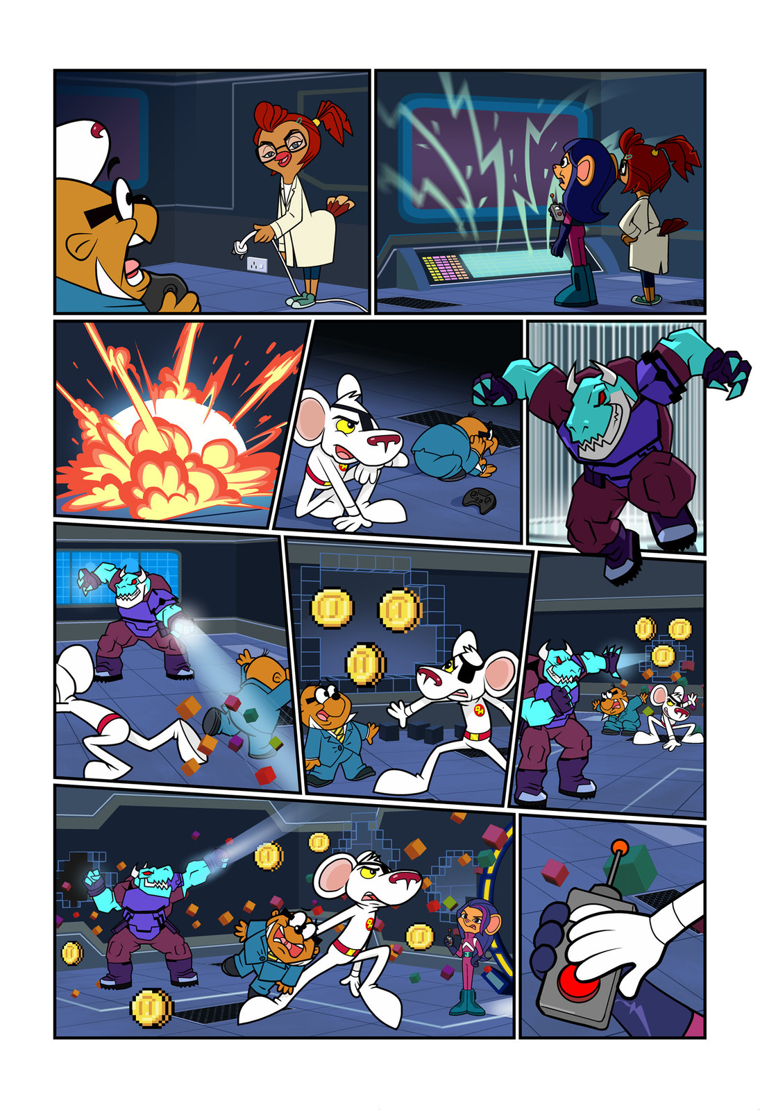 "Danger Mouse - ""The Mouse Who Noob too much!"" Page 3"