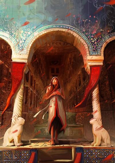 Hassan chenari persian queen