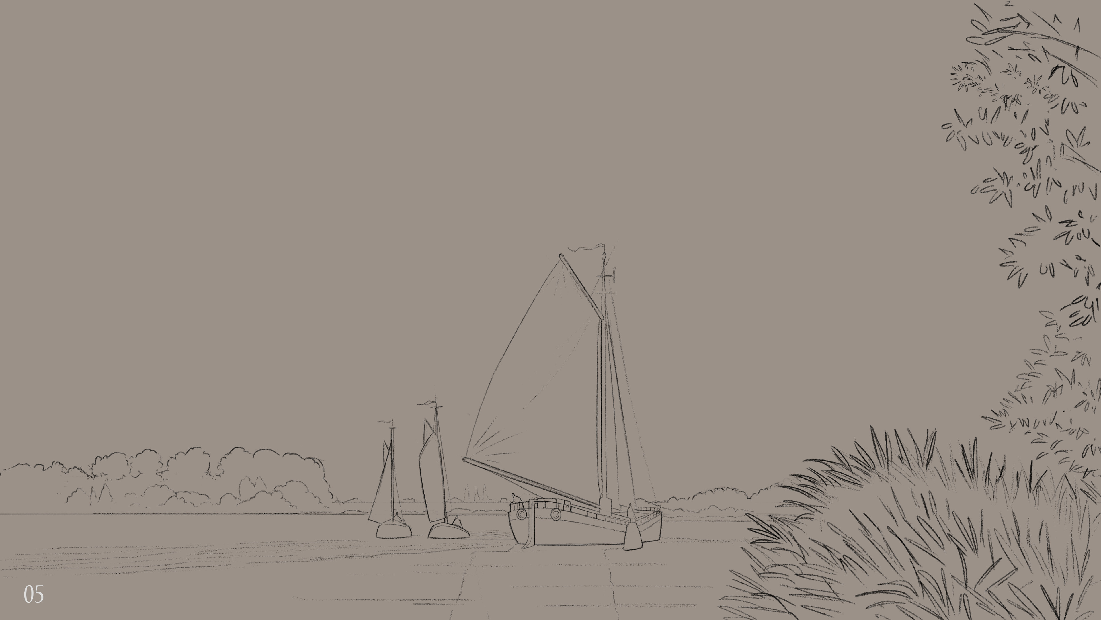 Day 5 - Sailing downstream together