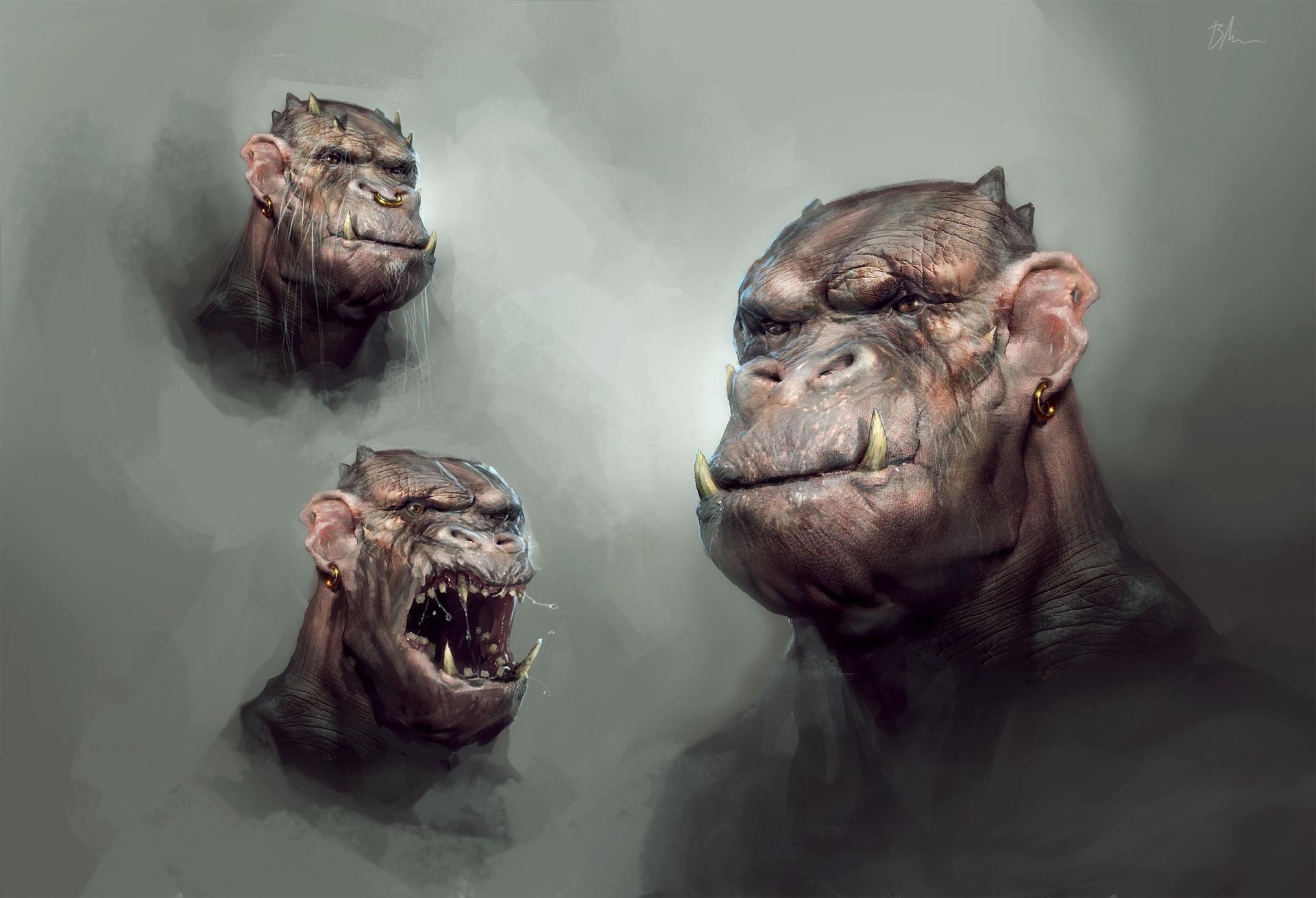 Brent minehan ork concepts