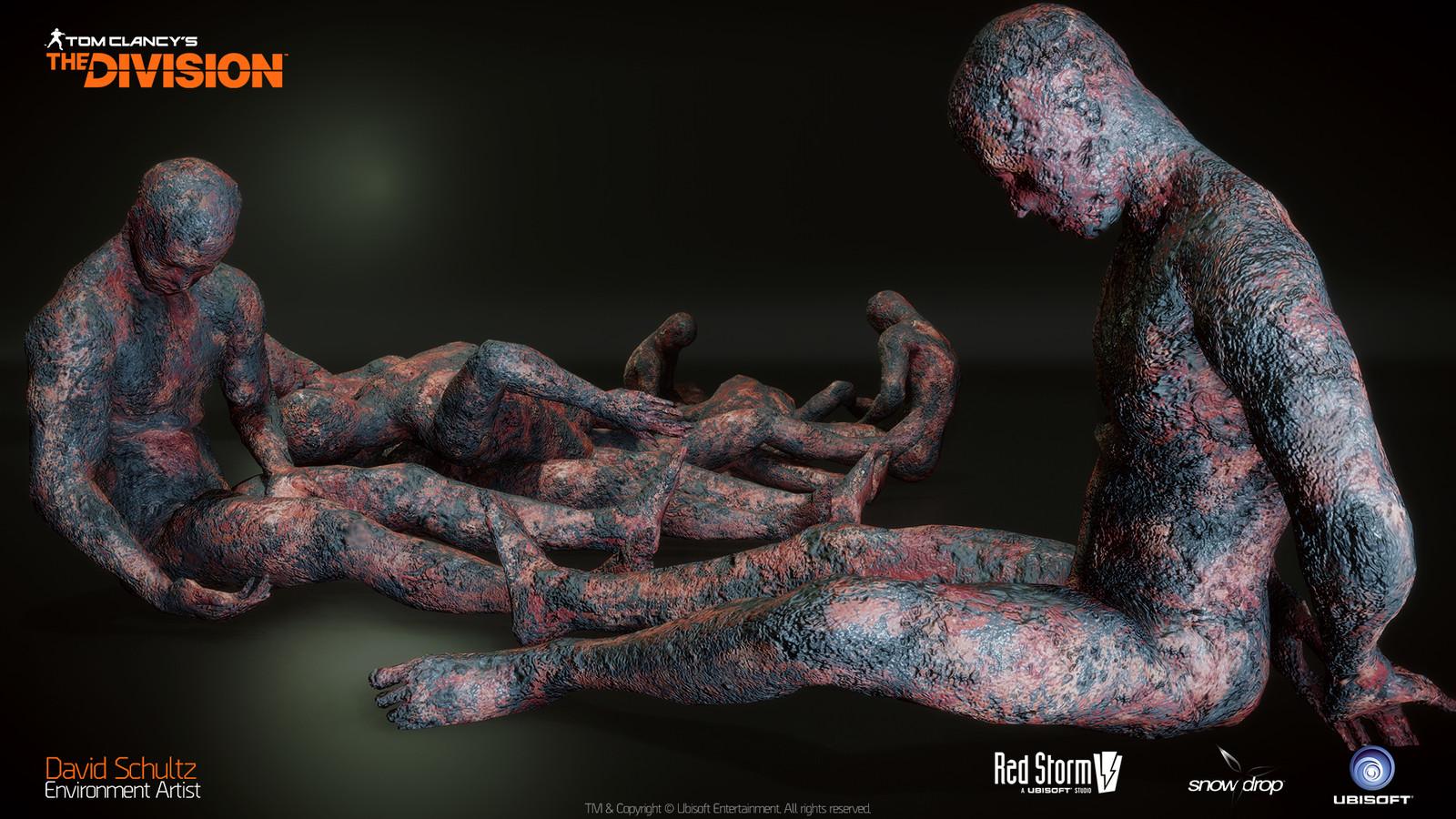 Underground DLC Burned Bodies