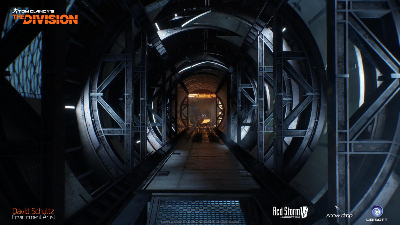 Last Stand Underground Rail Tunnel 02