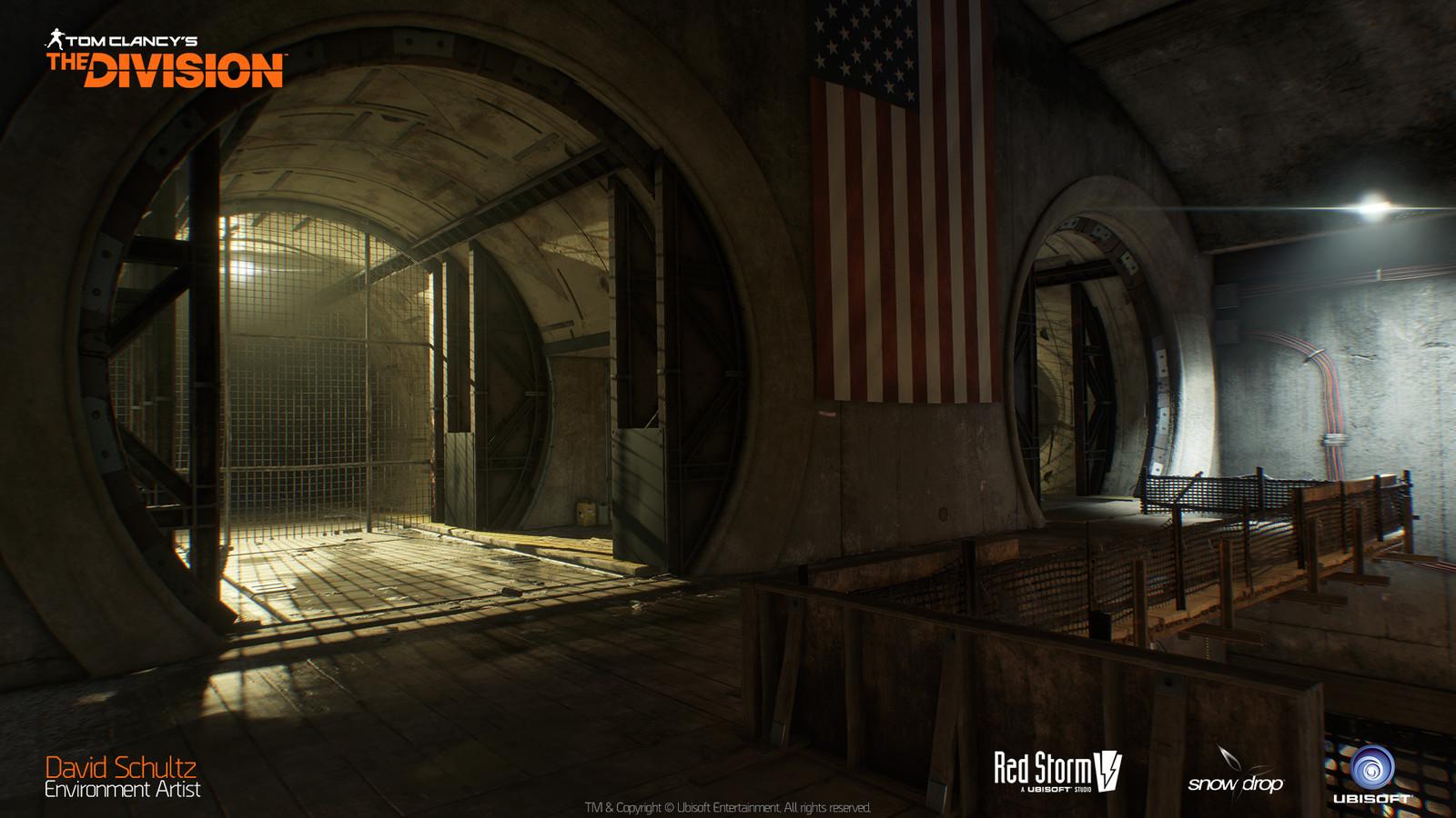 Last Stand Underground Rail Tunnel 03