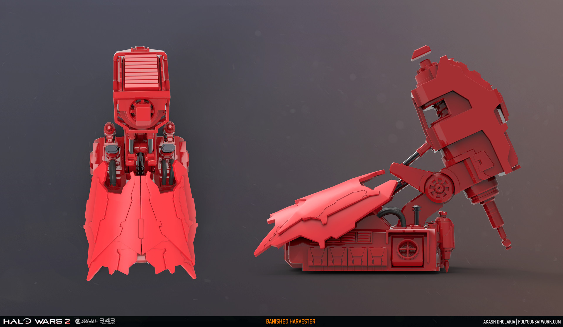 Akash dholakia halo wars 2 harvester 01