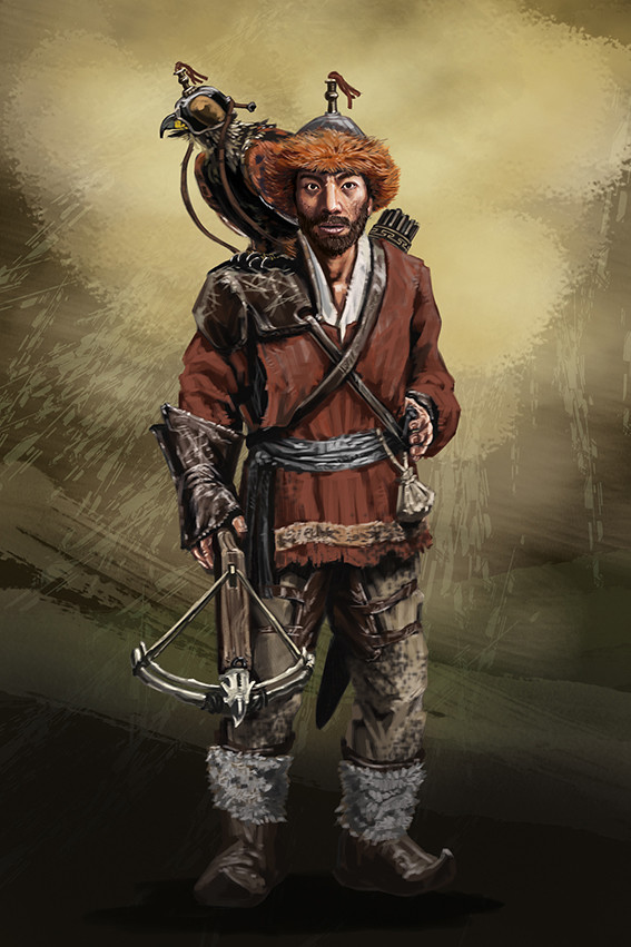 Yun nam character2 hero2 the falconer rgb72