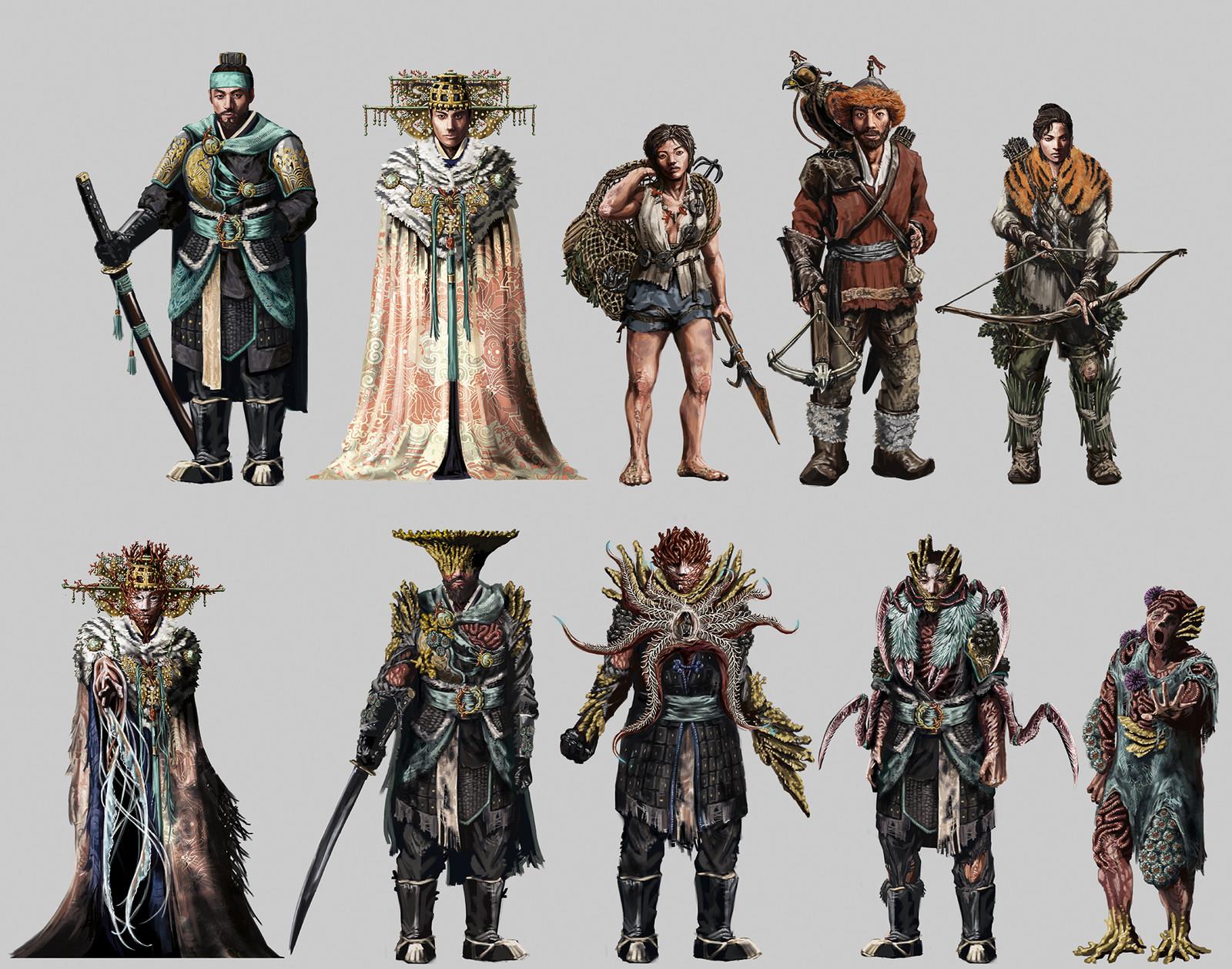 Full character lineup