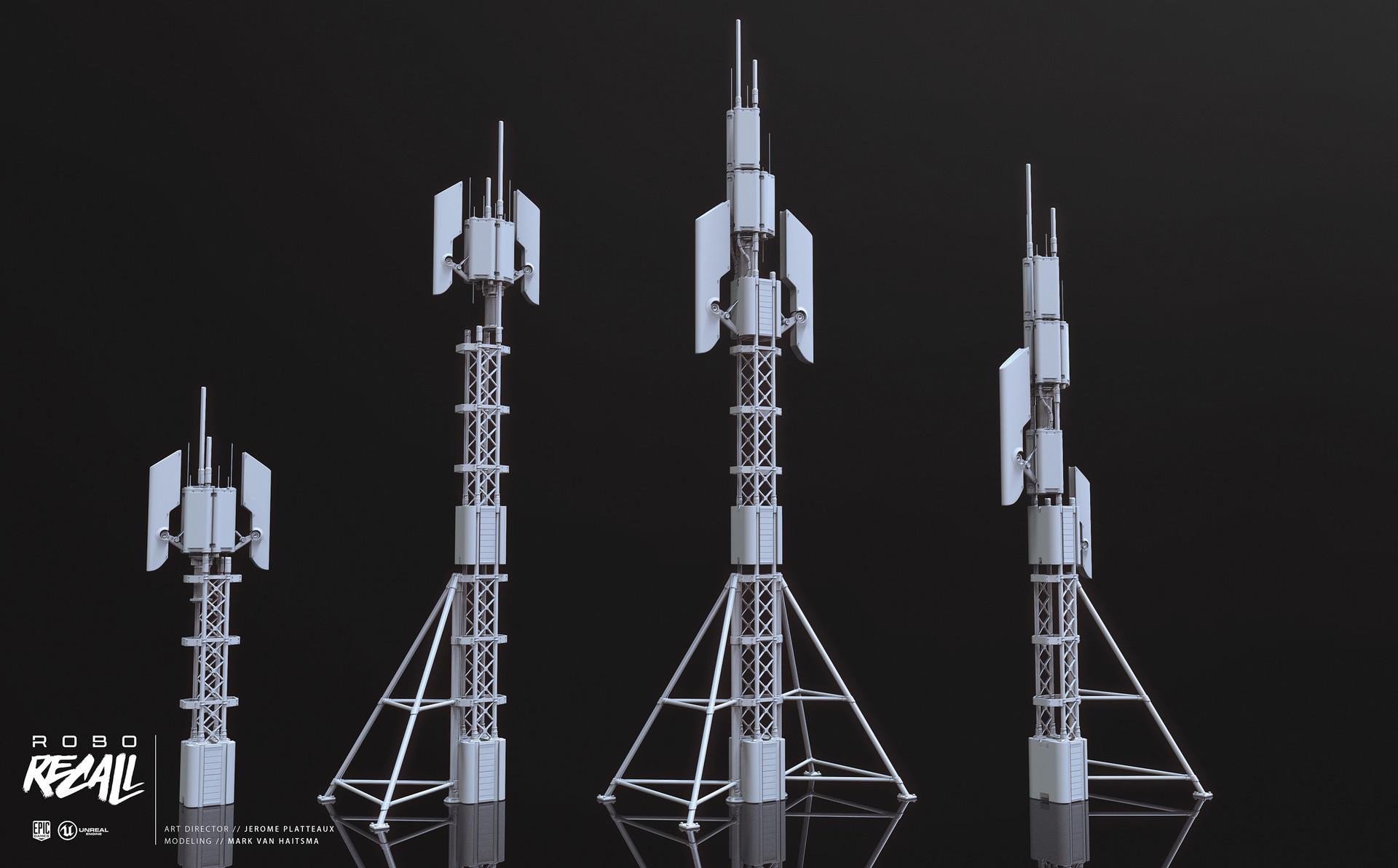 Mark van haitsma antennas large gray