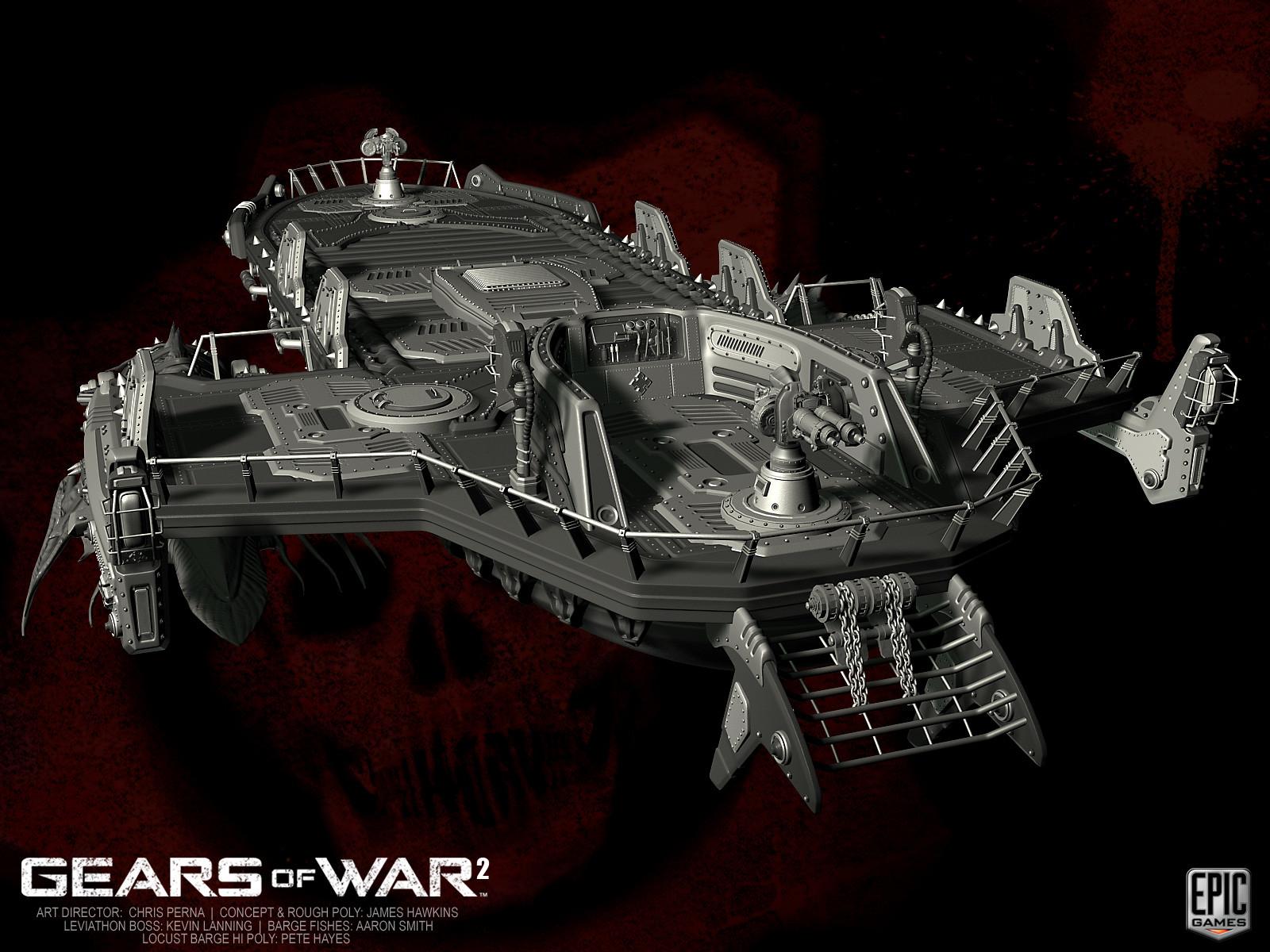 Pete Hayes - Gears of War 2 Vehicles