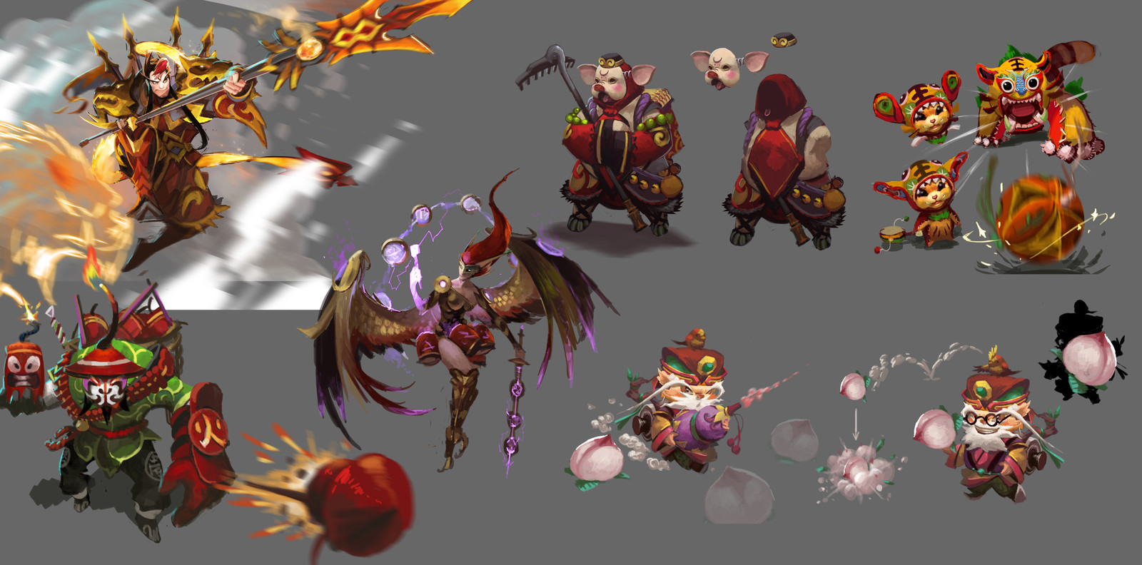 skin sketches