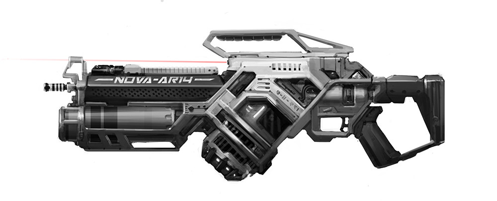 Heavy Laser Rifle.