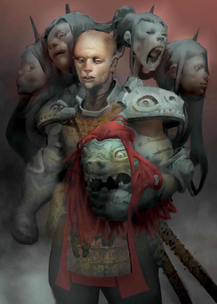 Sengkry chhour samurai