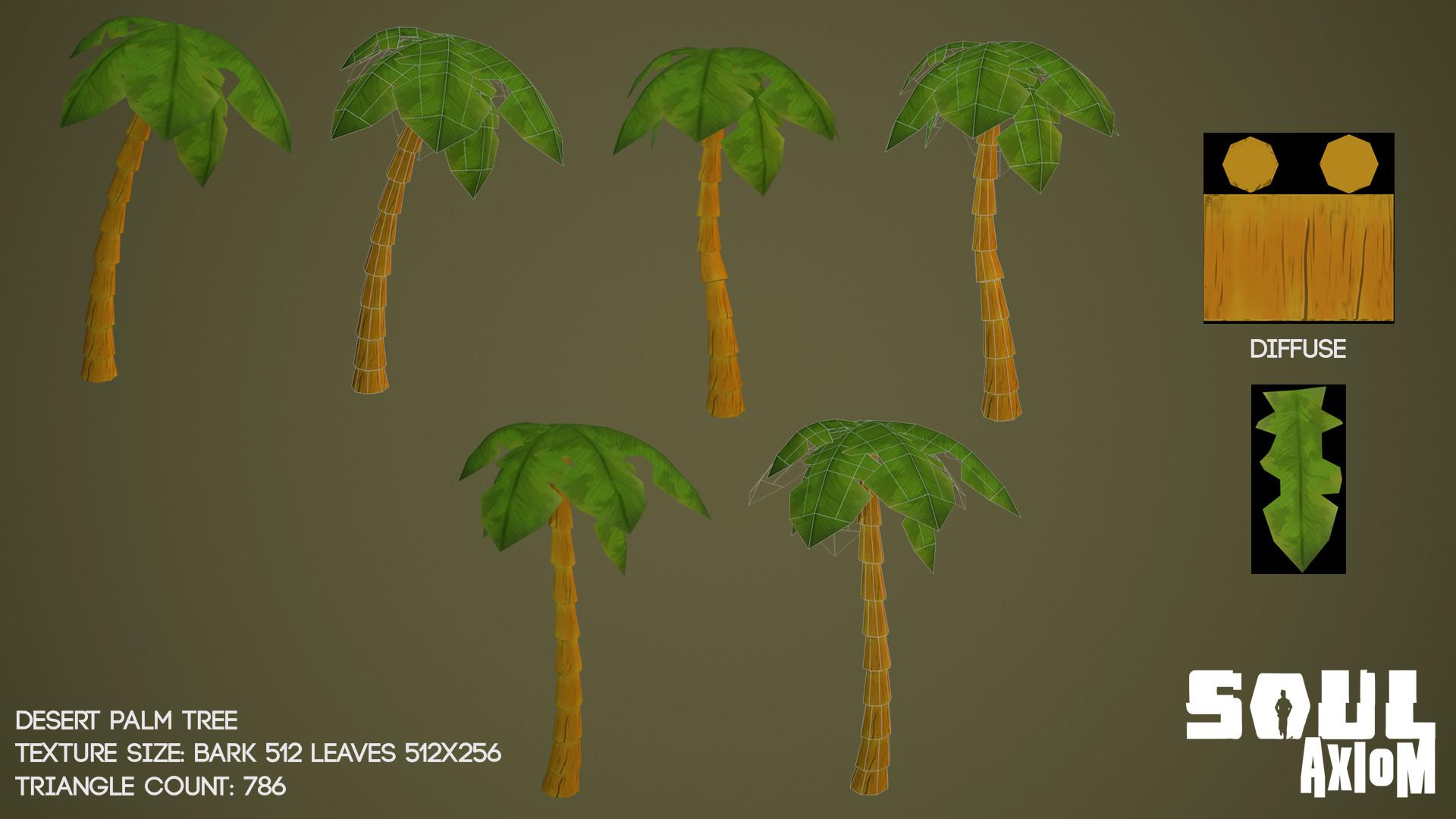 Martin giles palm tree