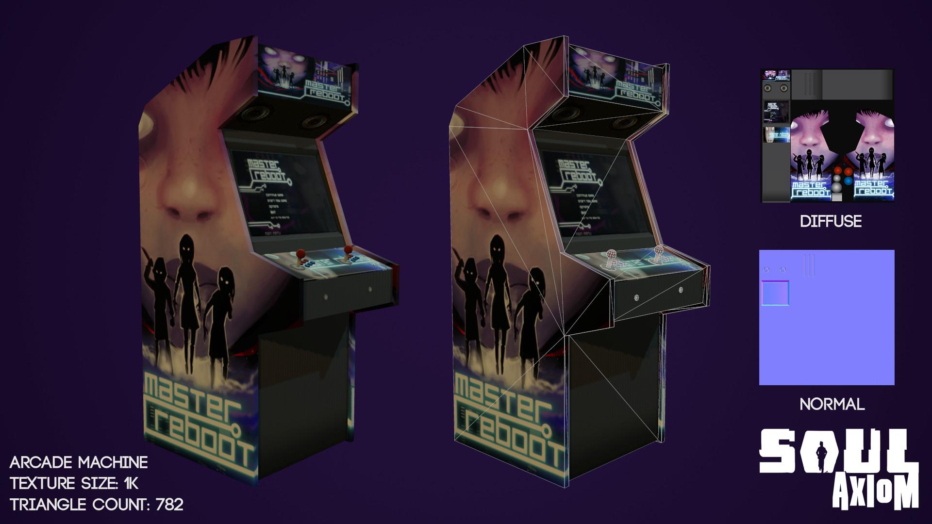 Martin giles arcade machine