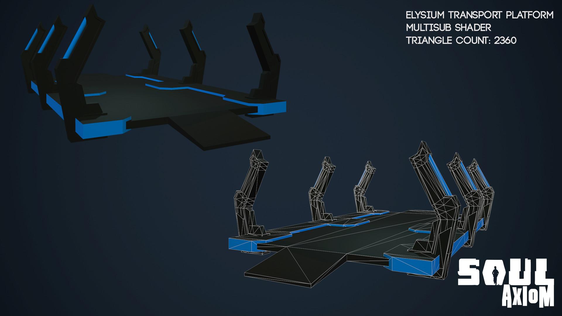 Martin giles elysium transport platform