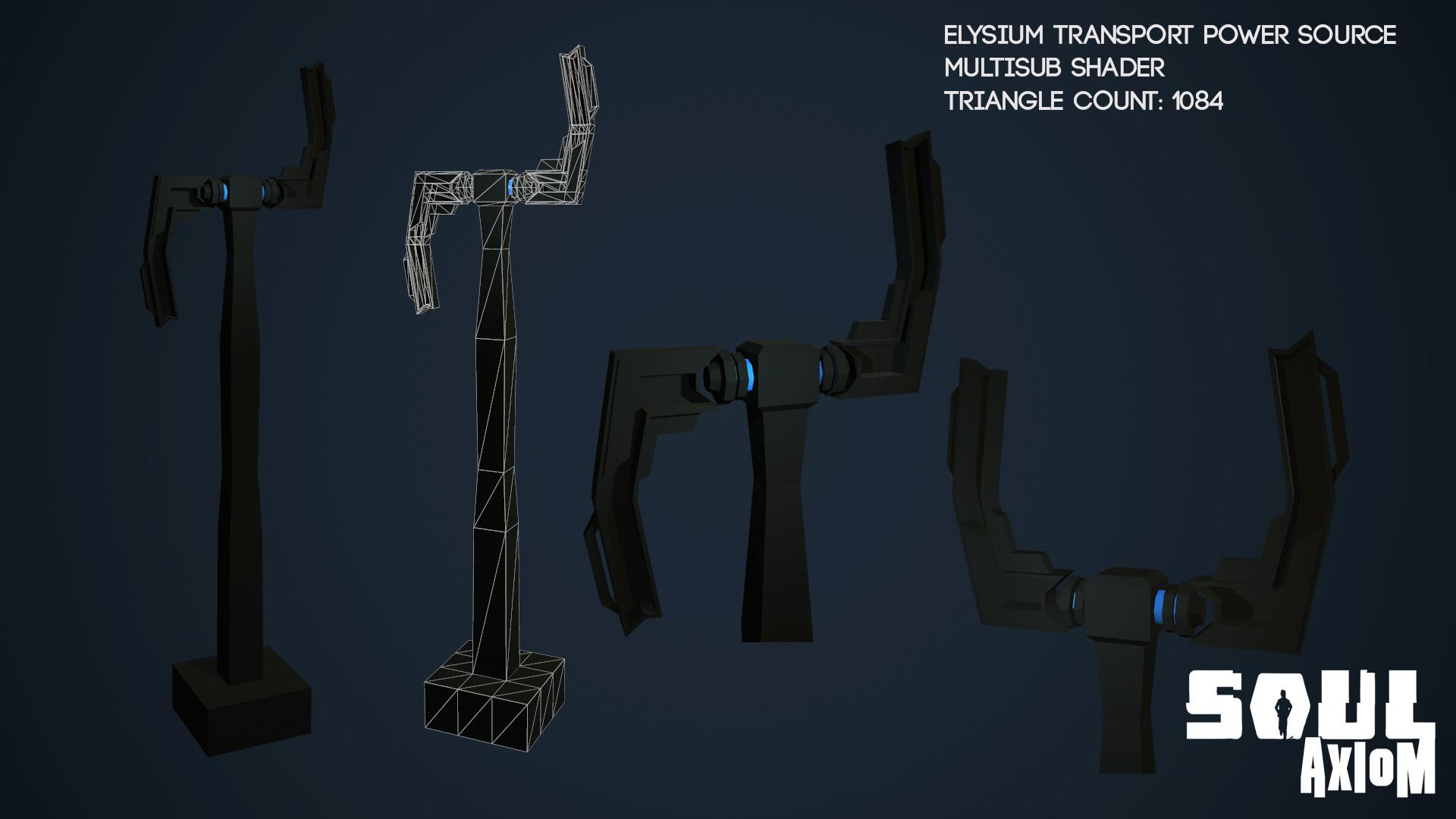 Martin giles elysium transport power source
