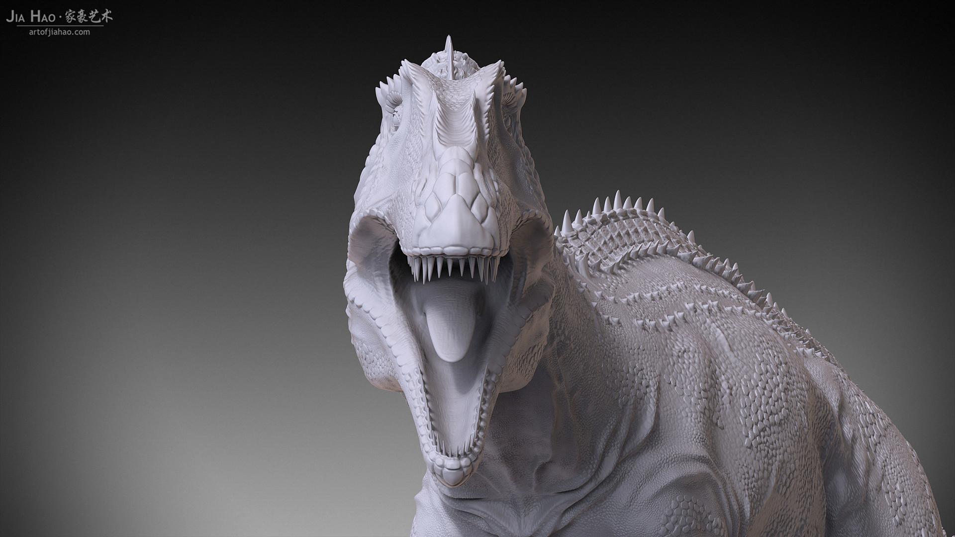 Jia hao acrocanthosaurus 06