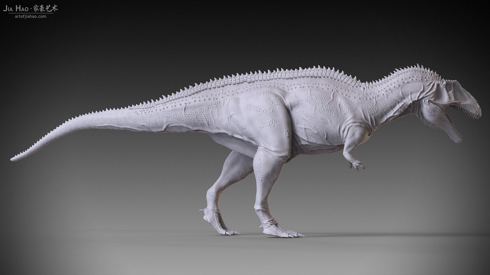 Jia hao acrocanthosaurus 02