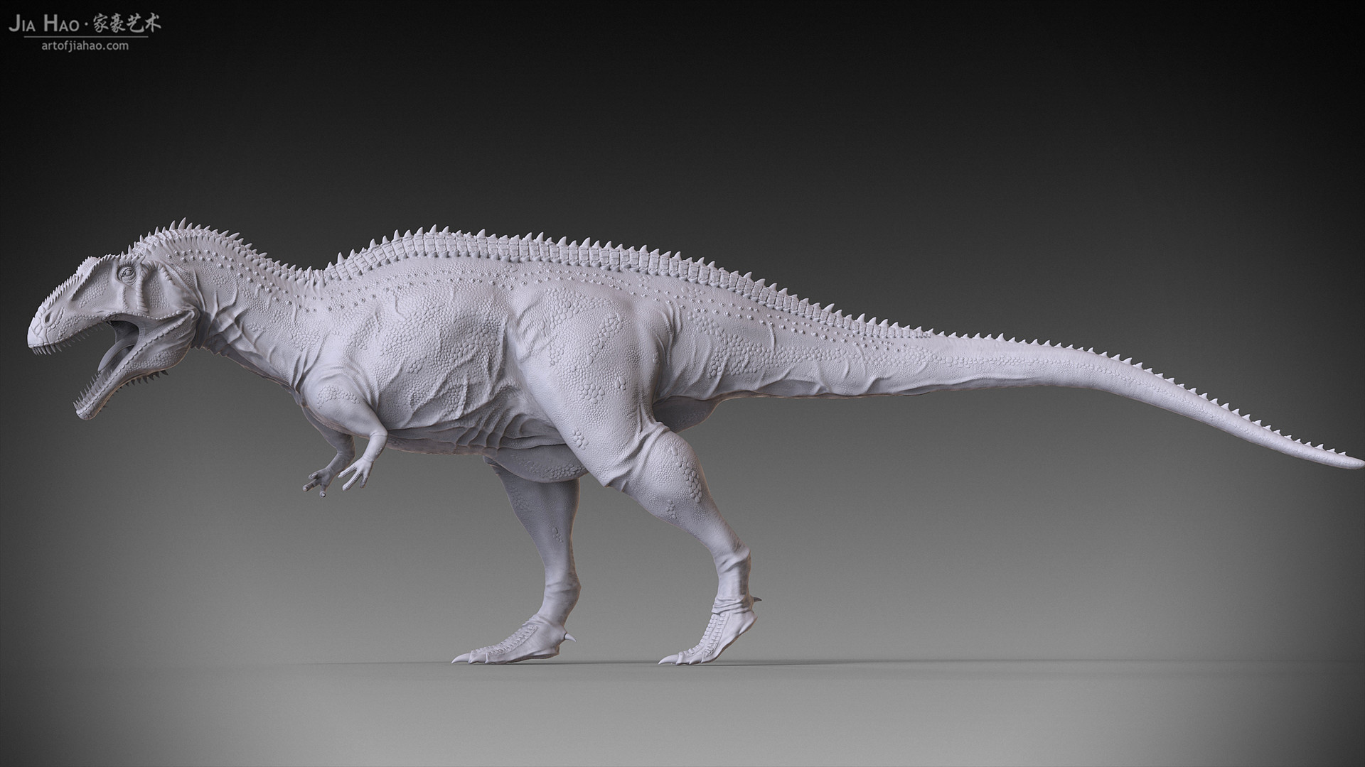Jia hao acrocanthosaurus 04