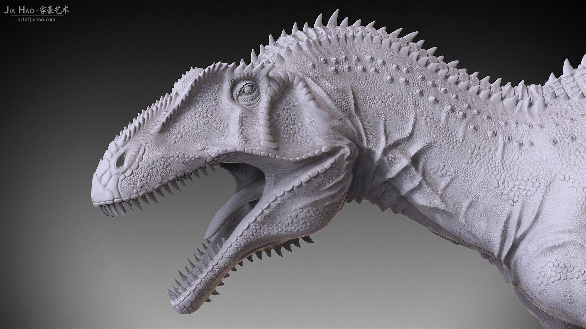 Jia hao acrocanthosaurus 05