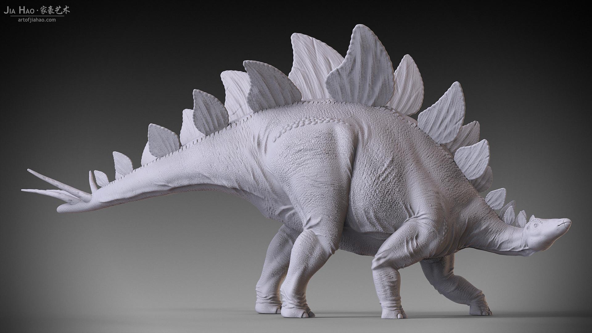 Jia hao stegosaurus 01