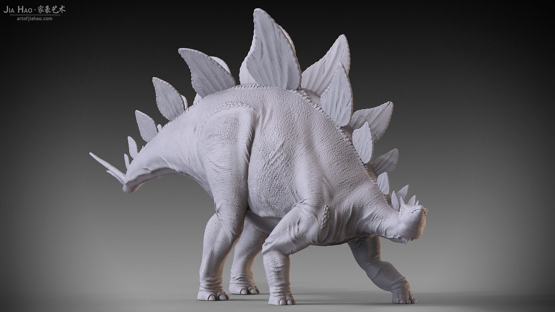 Jia hao stegosaurus 02